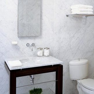 Carrara-C Marble-bathroom
