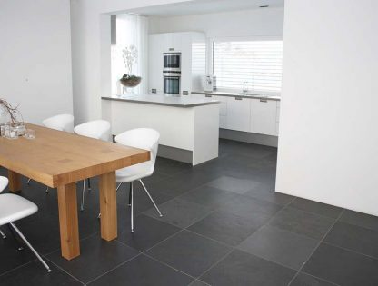 Grey Brazilian Slate Brushed Tiles
