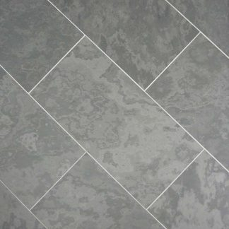 Grey Brazilian Slate Honed Tiles
