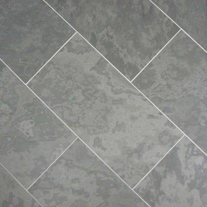 Grey Brazilian Slate Honed Tiles