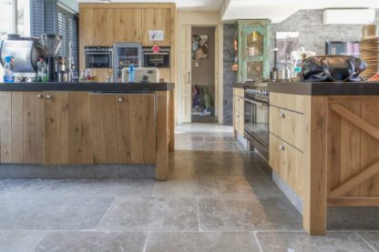 Lucca Grey Limestone Tiles