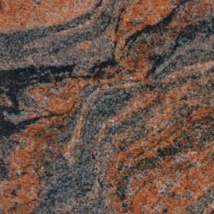 Multicolour Red Granite Tiles