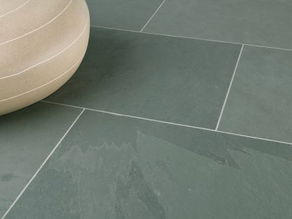 Verde Brazilian Slate Cleft Tiles