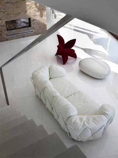 Snow Crystal Marble Tiles