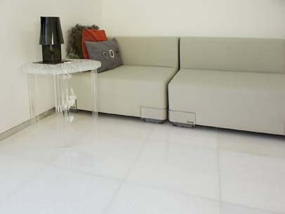 Thassos white marble London